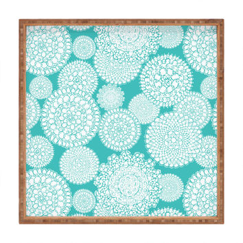 Heather Dutton Delightful Doilies Tiffany Square Tray