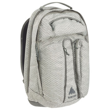 Burton: Curbshark Backpack - Gray Heather Diamond Ripstop