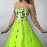 Embellished Empire Gown by Splash by Landa Designs