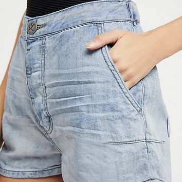 OneTeaspoon Mrs. Blondes Denim Shorts
