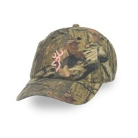 Browning Women's 3D Buckmark Hat - MOINF/PINK