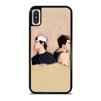 DOLAN TWINS ART iPhone X Case Cover