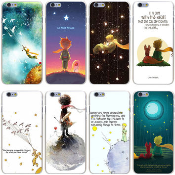 The Little Prince Hard Transparent Cover Case for iPhone 7 7 Plus 6 6S Plus 5 5S SE 5C 4 4S