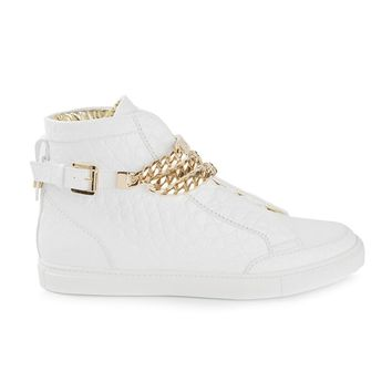 DSQUARED2 chain detail sneakers
