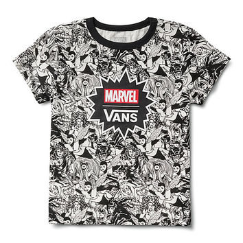 Vans x Marvel Women Baby Tee | Shop Womens Tees At Vans