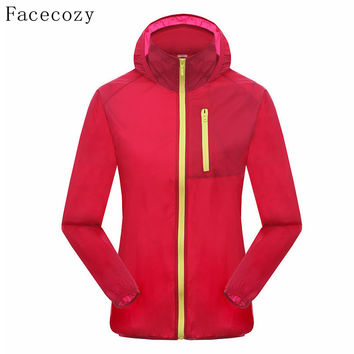 Facecozy Women UV/Sun Resistant Fishing Shirts Summer Outdoor Hunting Shirts Windproof Sporting Clothing For Female