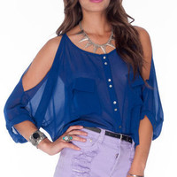 Brooke Button Down Blouse