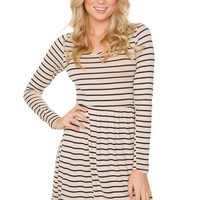Brandi Stripe Dress