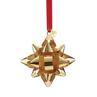 kate spade new york Tinsel Topper Gold Bow Ornament