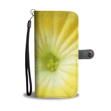 Yellow Flower RFID Wallet Case