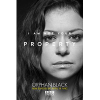 Orphan Black poster Metal Sign Wall Art 8inx12in