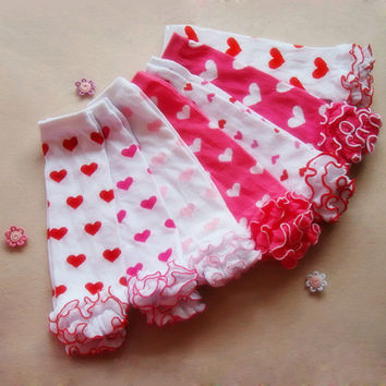 Heart Me Valentine's Day Leg Warmers