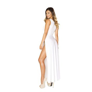Roma 3533 Maxi Length Dress with Front Slits