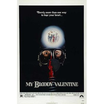 My Bloody Valentine 11x17 Movie Poster (1981)