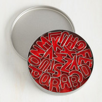 Alphabet Your Bottom Dollar Cookie Cutter Set by ModCloth
