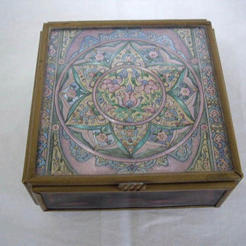 Vintage Handcrafted Thomas Cathey Trinket Box