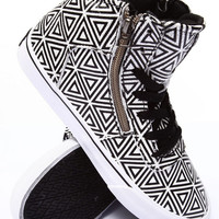 Cuttler Diamond Print Sneaker by Supra