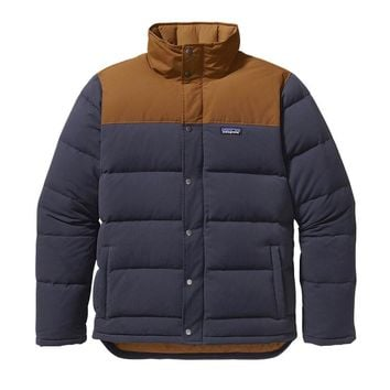 Patagonia Men's Bivy Down Jacket | Smolder Blue