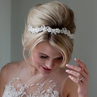 Daisy Floral Wedding Headband