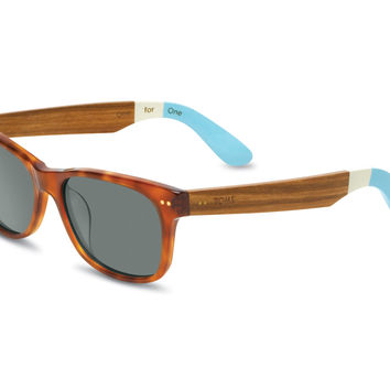 TOMS Beachmaster 201 Honey Tortoise Ebony Wood No color specified OS