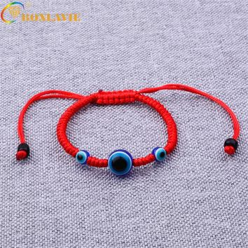 Fashion Lucky Red Rope Strings Thread Women Bracelets