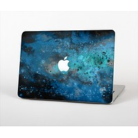 The Blue and Teal Painted Universe Skin Set for the Apple MacBook Pro 13""