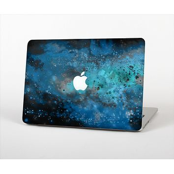The Blue and Teal Painted Universe Skin Set for the Apple MacBook Air 13""