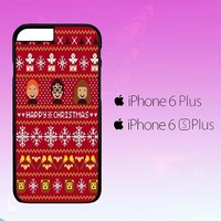 Harry Potter Merry Christmas Pattern A0482 iPhone 6|6S Plus Case