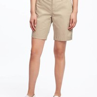 "Everyday Twill Shorts for Women (9"") 