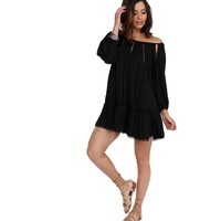 Black Be Free Tunic