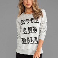 291 Rock and Roll Pullover Sweatshirt in Gray