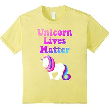 Unicorn Lives Matter Funny Political Unicorn tee Shirt