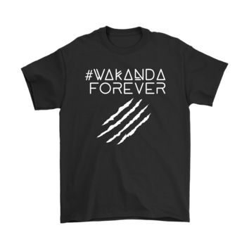 Wakanda Forever Claws Slash Marvel Black Panther Shirts