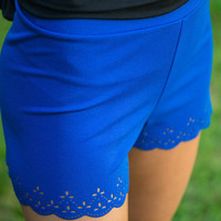 Heat Wave Shorts, Blue