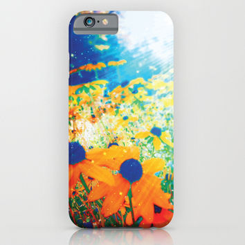 Flowers in the Sun iPhone & iPod Case by NisseDesigns