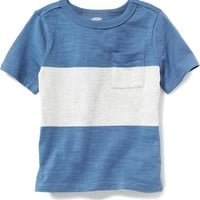 Rugby-Stripe Tee for Baby