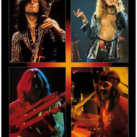 Led Zeppelin Live Pics Poster 11x17