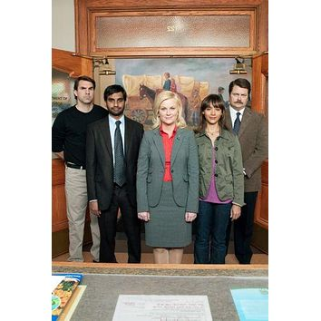 Entertainment Room Decor Parks And Recreation Poster 11 inch x 17 inch poster