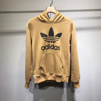 ADIDAS Woman Men Fashion Hoodie Top Sweater Pullover-1