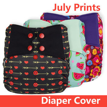 ElfDiaper New Print! Diaper cover no pocket washable baby nappy cloth diapers nappies
