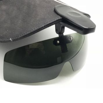 Polarized Glasses Hat Visors Sport Clips Cap Clip on Sunglasses For Fishing Biking Hiking Golf Eyewear UV400