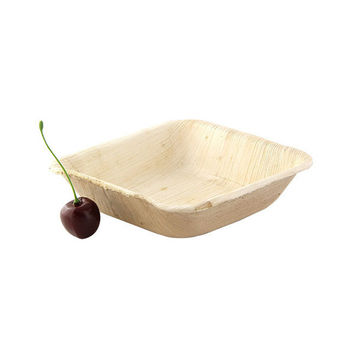 Case - Palm Leaf Square Bowl PALQUAD 9oz