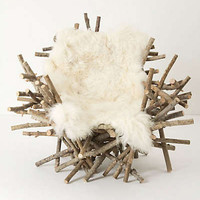 Anthropologie - Branches & Fur Chair