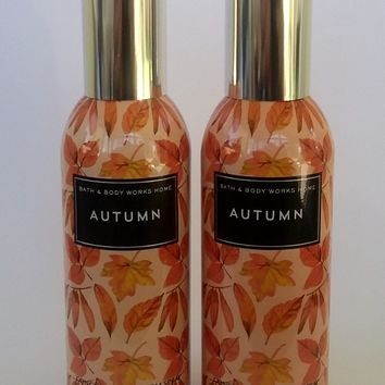 2 Bath & Body Works AUTUMN Room Spray 1.5 oz