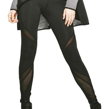 Michi Radiate Leggings - Black