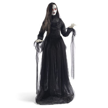 Life-size Lady in Black Figure