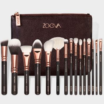 Makeup brush set of 15 ZOYVA with eye shadow makeup brush makeup beauty tools = 9969926726
