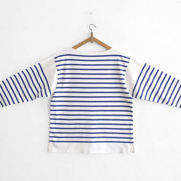 Vintage French Marine Long Sleeve Tee Shirt - Size M/L
