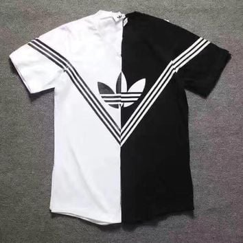"""Adidas """"do you like a multi colored sports T-shirt men and women"""