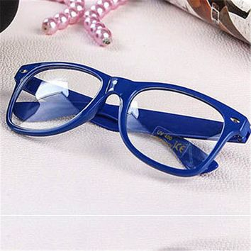 Glasses Frame Men Women's Spectacle Frame Optical Glasses With Clear Glass Brand Clear Transparent Glasses